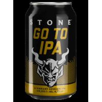 Пиво Stone Brewing Go To IPA (0,355 л.)
