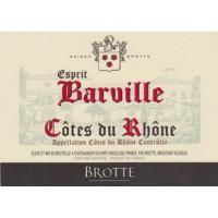 Вино Brotte S.A. Cotes du Rhone Esprit Barville Blanc, Brotte (0,75 л)