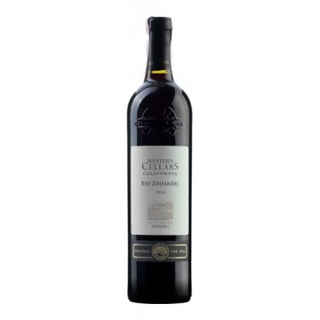 Вино Western Cellars Zinfandel красное сухое 0.75л