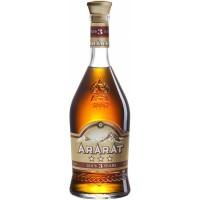 Бренди Ararat 3 звезды 0.7л, 40%