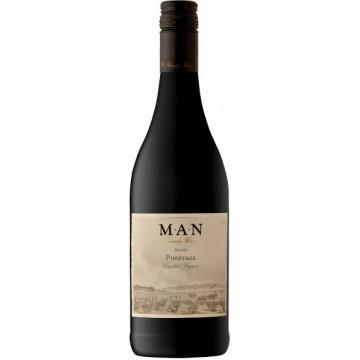 Вино Man Pinotage Bosstok красное сухое 0.75л
