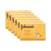 Мыло Johnsons Soft&Fresh 125 г
