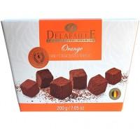 Конфеты Delafaille Orange, апельсин (200 г)