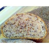 Хлеб Льняной с кунжутом, 450 г