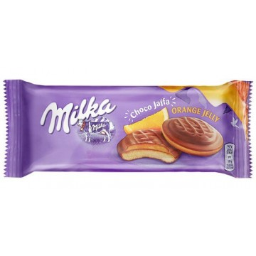 Печенье Milka Choco Jaffa Orange Jelly, 147 г