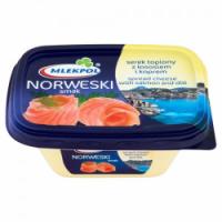 Сыр сливочный Milekpol laciaty norweski smak, 135 г
