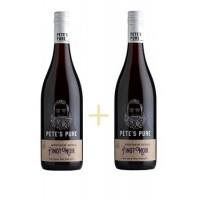 Набор Pinot Noir, Pete's Pure 0,75 л + Pinot Noir, Pete's Pure 0,75 л