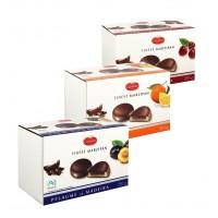 Марципановые конфеты Carstens в шоколаде с апельсиновой начинкой, 210 г
