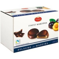 Марципановые конфеты Carstens в шоколаде с начинкой Слива в Мадейре, 210 г