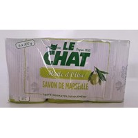 Мыло Le Chat Olive 6x100 Г