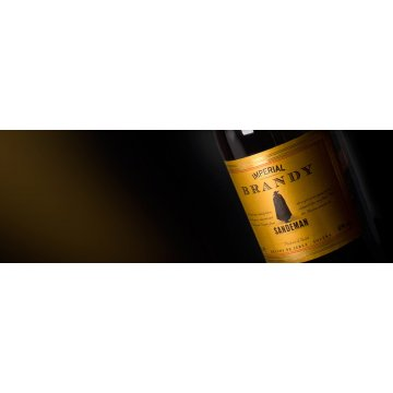 Бренди  Sandeman Imperial, 0,7 л (в подарочном тубусе)