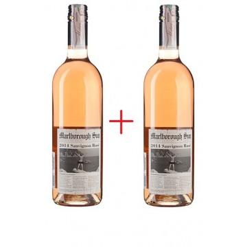 Набор вина Sauvignon Rose Marlborough Sun (0.75 л) + Sauvignon Rose Marlborough Sun (0,75 л) + Футболка