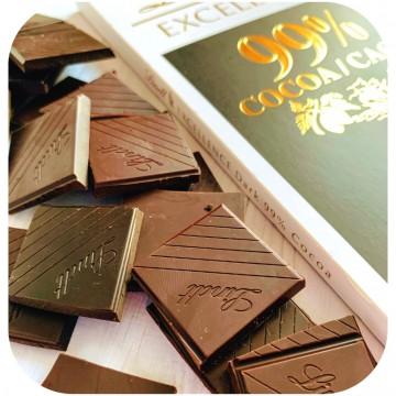 Шоколад Lindt, черный 99 % ( 50 г )