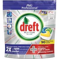Капсулы для посудомоечных машин Dreft Platinum Citrus (90 шт)