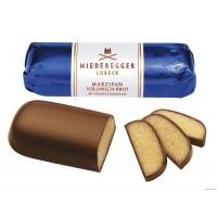 Марципановый батончик Niederegger в молочном шоколаде, 125 г