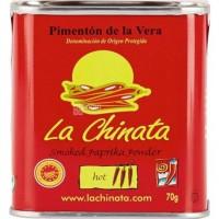 Паприка La Chinata, копчено - острый порошок, 70 г