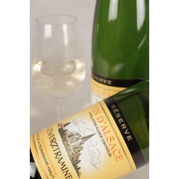 Вино Cave vinicole de Hunawihr Gewurztraminer Reserve Semi-Sweet (0,75 л)