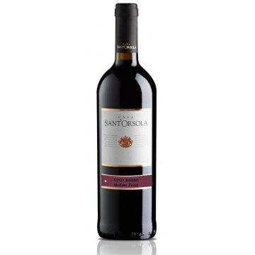 Вино Casa Sant'Orsola Rosso, Medium Sweet (0,75 л)