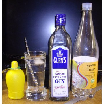 Джин Glen's Special London Extra Dry (0,7 л)