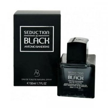 Antonio Banderas Seduction in Black, 50 мл