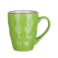 Чашка Banquet Contour, зеленая (380 мл)