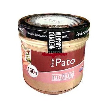 Паштет Hacendado Pato, 160 г