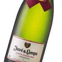 Игристое вино Juve y Camps Cinta Purpura Reserva Brut, gift box (0,75 л)