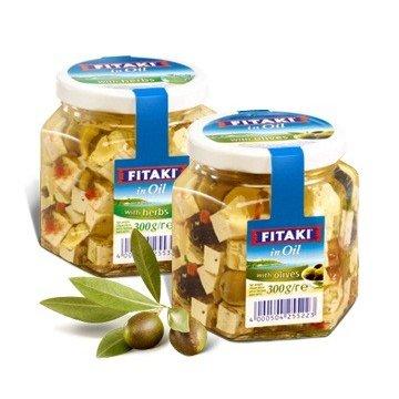 Сыр Fitaki с травами, 300 г