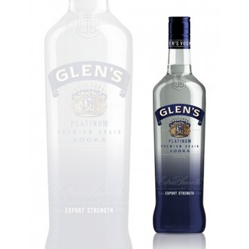 Водка Glen's Platinum Vodka (0,7 л)
