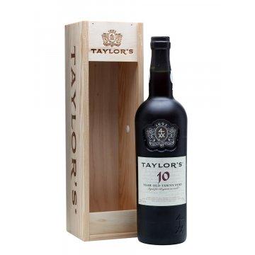 Вино Taylor's 10 Year Old Tawny, gift box (0,75 л)