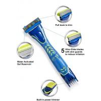 Станок для бритья Wilkinson Sword Hydro 5 Groomer Rasage Stylise Men +5 картриджей