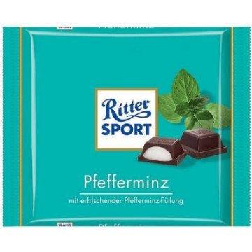 Шоколад Ritter Sport Pfefferminz, 100 г