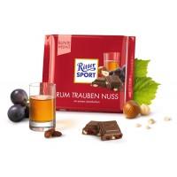 Шоколад Ritter Sport Rum Trauben Nuss, 100 г