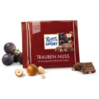 Шоколад Ritter Sport Trauben Nuss, 100 г