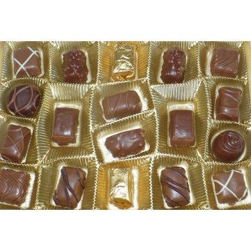 Конфеты Maitre Truffout Pralines Exquisite ( коричневые ), 400 г
