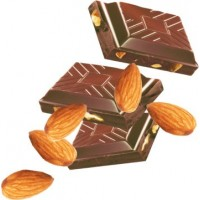 Премиум шоколад Cachet 32% Milk Chocolate with Almonds, 300г