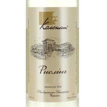Вино Колонист Рислинг (0,75 л.)