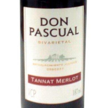Вино Don Pascual Tannat Merlot (0,187 л.)