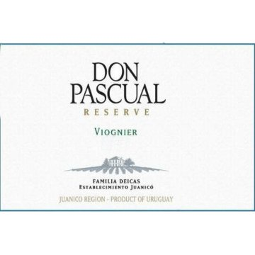 Вино Don Pascual Viognier Reserve (0,75 л.)