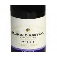 Вино Baron d'Arignac Merlot (0,75 л)