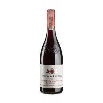 Вино  Baron d'Arignac Cabernet Sauvignon IGP (0,75 л)