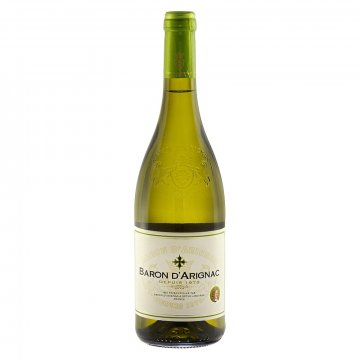Вино Baron d'Arignac Blanc Medium Sweet (0,75 л)