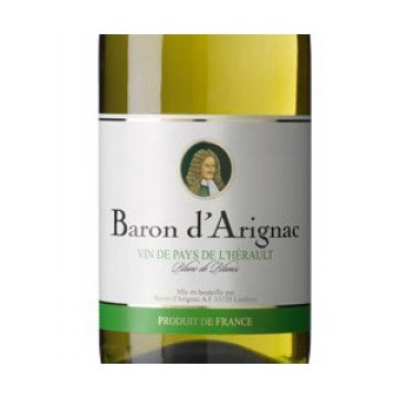 Вино  Baron d'Arignac Blanc (0,75 л)