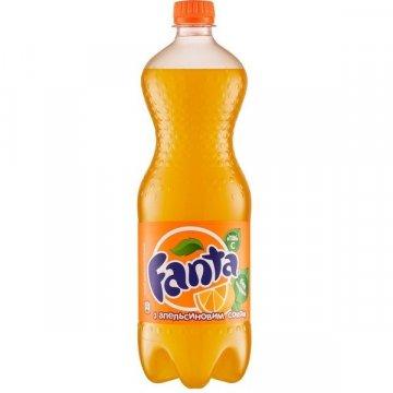 Фанта оранж, 1 л