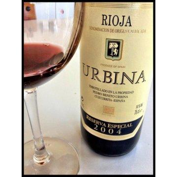 Вино Urbina Reserva Especial, 2004 (0,75 л)