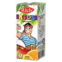 Нектар Rich Kids Мультифруктовый, 200 мл