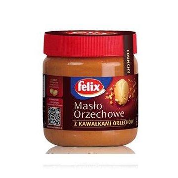 Арахисовое масло Felix с кусочками ореха (350 г)