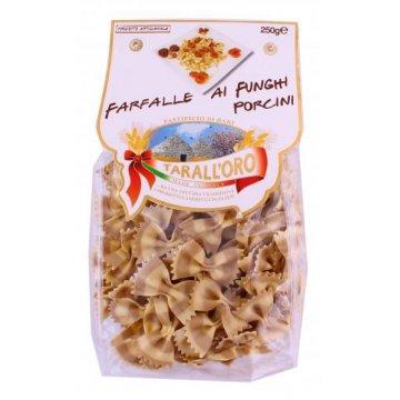 Макароны TarallOro Farfalle Al Funghi Porcini, 250 г