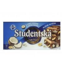 Шоколад Studentska молочный с кокосом (180 г)