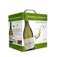 Вино Baron d'Arignac Colombard (5,0 л)